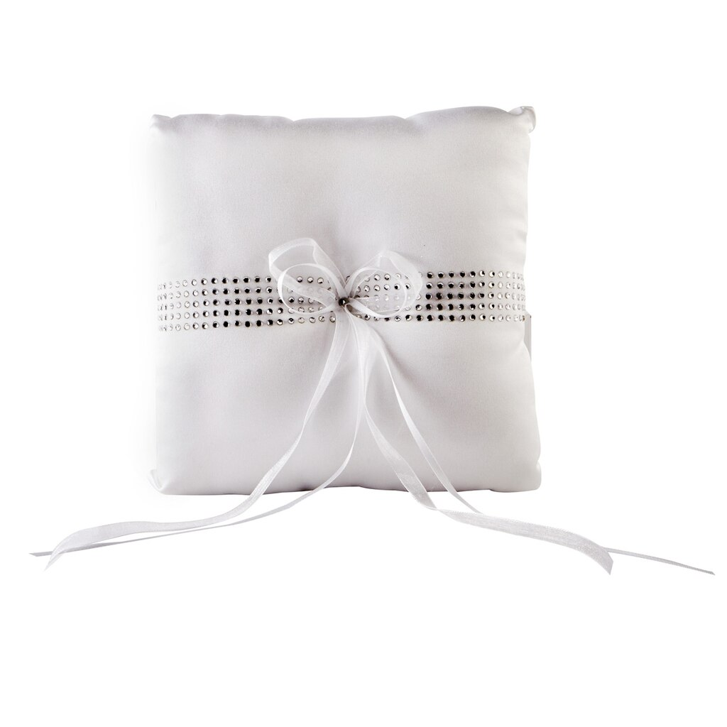 Celebrate It™ Occasions™ Ring Bearer Pillow, White with