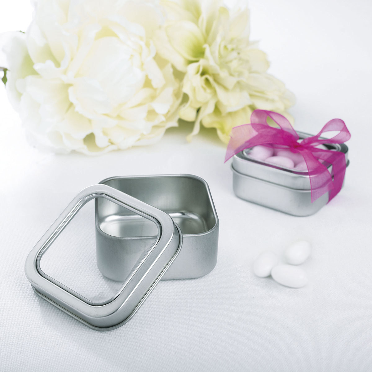 Clear Party Favor Boxes Michaels : Celebrate it occasions tin favor box