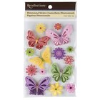 Recollections Fluttering Butterflies and Flowers Stickers