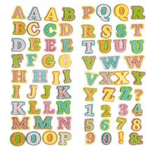 Recollections Layered Felt Alphabet Stickers