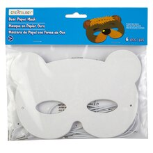 Creatology Paper Mask, Bear