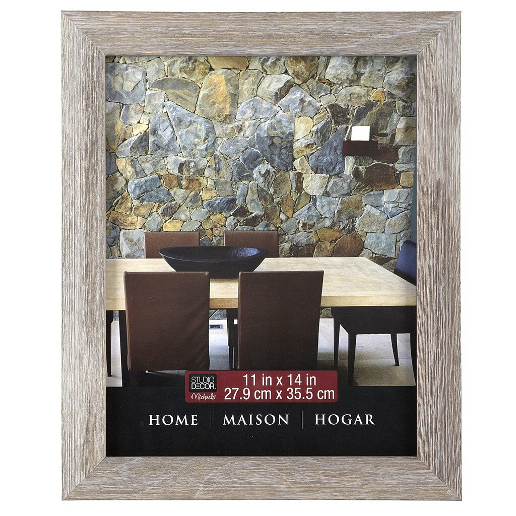 barnwood home collection frame by studio dcor - Michaels 12x12 Frame