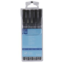 Artist's Loft Illustration Pen Set, Black