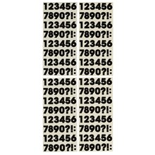 Recollections Block Number and Punctuation Marks Stickers