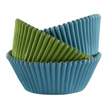 Celebrate It Standard Baking Cups, Blue/Green