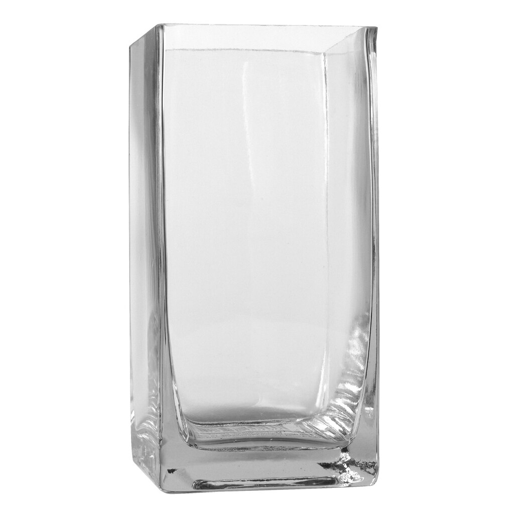 Ashland 174 Tall Cube Glass Vase 6 Quot
