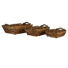 Ashland Willow Basket Tray, Small