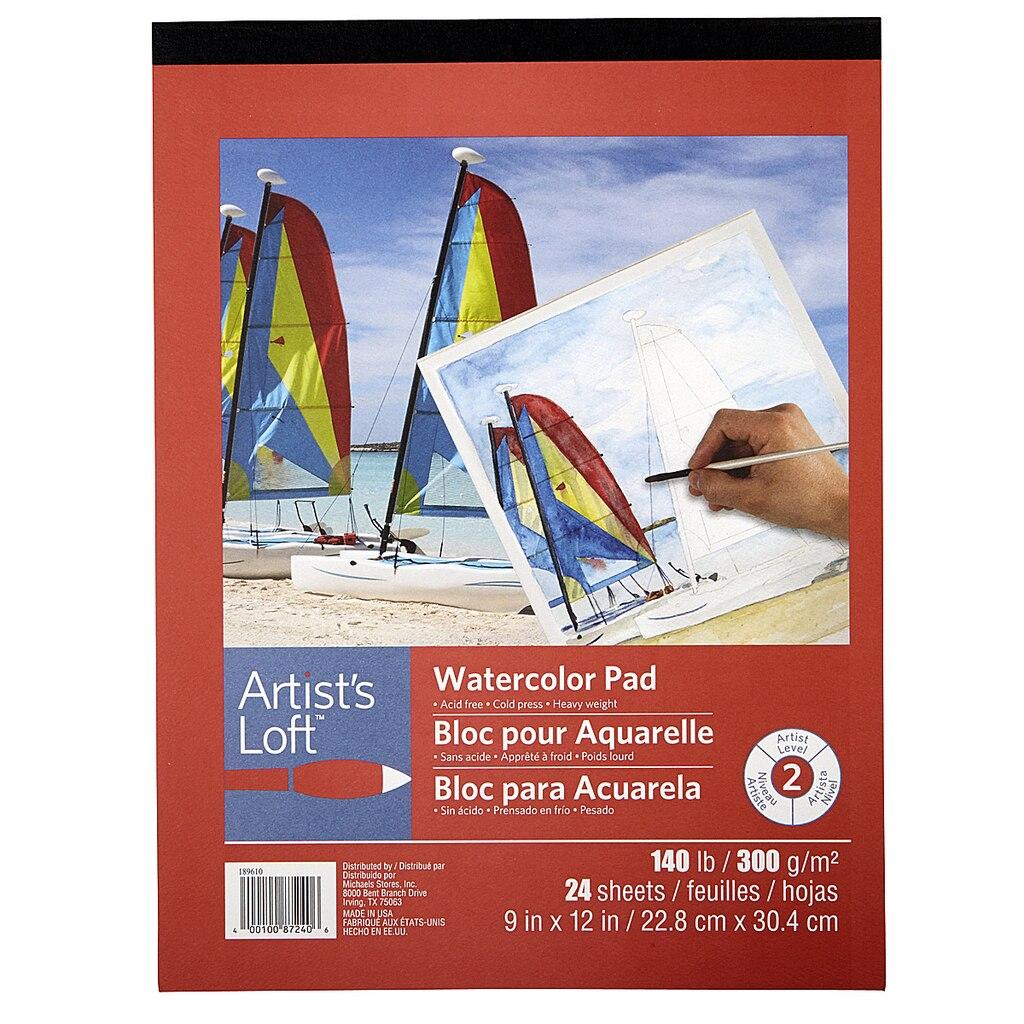Watercolor books for sale - Artist S Loft Watercolor Pad