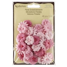 Recollections Signature Floral Embellishments, Pink