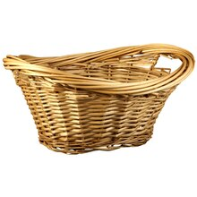 Small Natural Willow Laundry Basket by Ashland®