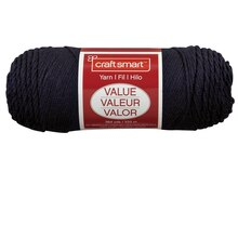 Craft Smart Yarn, Solid, Navy