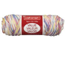 Craft Smart Yarn, Ombre, Pastel