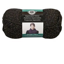 Loops & Threads Impeccable Glitter Yarn, Mirror