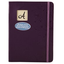 Artist's Loft Monogram Journal, Plum