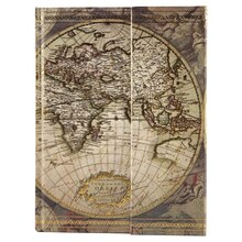 Artists Loft Magnetic Journal, World Map