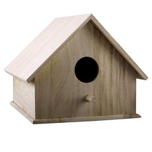 ArtMinds Smooth Roof Birdhouse