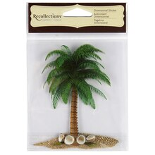 Recollections Dimensional Sticker, Palm Tree
