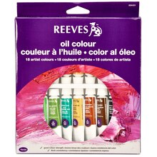 Reeves Oil Color Set, 18 Count