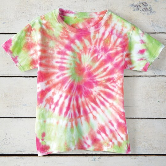tie dye t shirt instructions