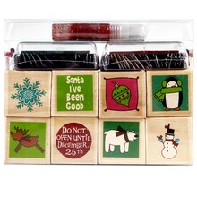 Recollections Whimsical Holiday Stamp Set