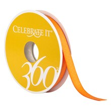 "Celebrate It 360 Twill Ribbon, 3/8"", Orange"