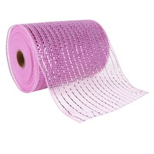 "Celebrate It Occasions Mesh Ribbon, 5 1/2"", Baby Pink"