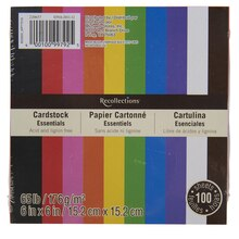 Recollections Essentials Cube Cardstock Paper