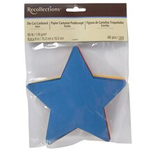 Recollections Die-Cut Cardstock Stars