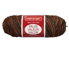 Craft Smart Yarn, Ombre, Desert Ombre