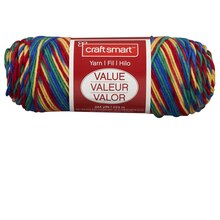 Craft Smart Yarn, Ombre, Pinata