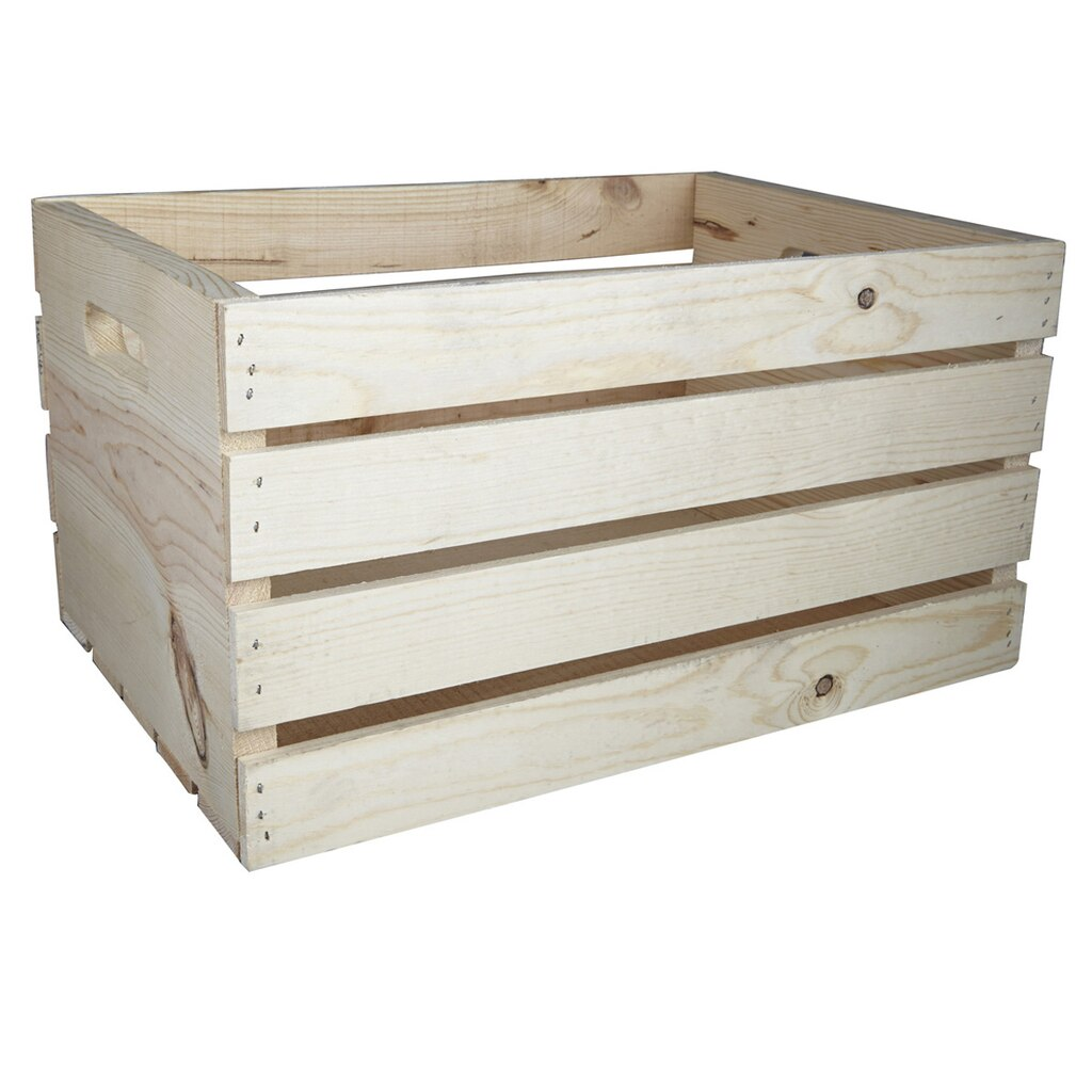 Artminds 174 Wood Crate Carry All