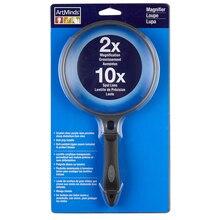 ArtMinds Magnifier, 2x to 10x Bifocal Lens