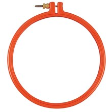 Loops & Threads Plastic Hoop, 6""