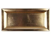 Ashland Rectangular Decor Tray, Gold