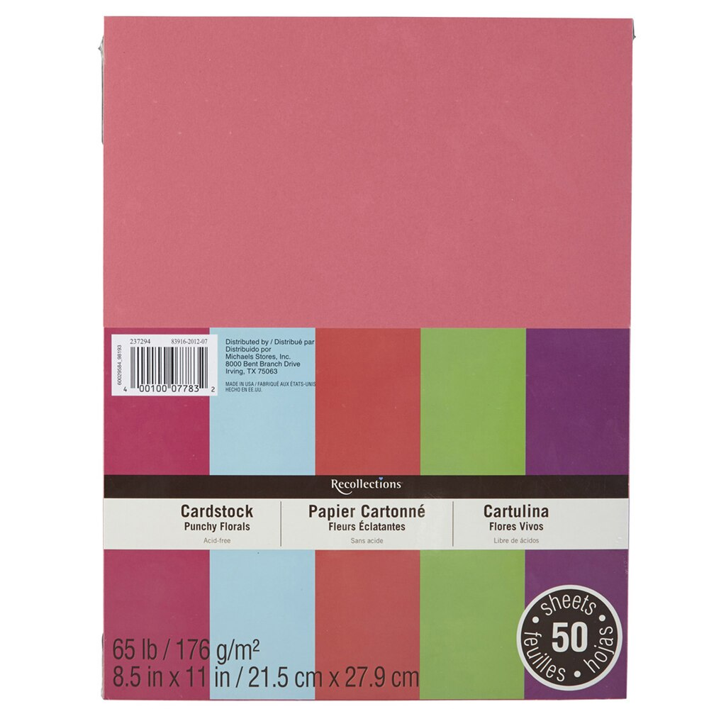 Craft Paper X Assorted Colors