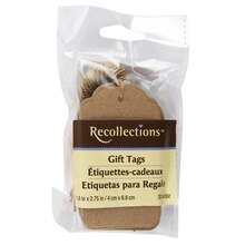 Recollections Gift Tags, Kraft