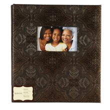 Recollections Signature Bronze Roman Photo Album