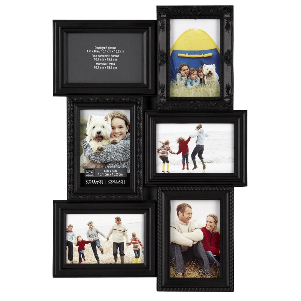 Fancy 6 Photo Collage Frame Pattern - Picture Frame Design ...