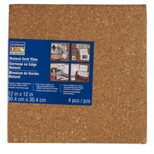 ArtMinds Cork Tiles, Natural