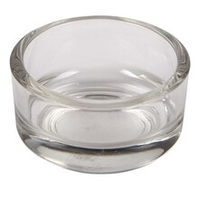 Ashland Clear Glass Tea Light Holder