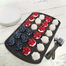 Fourth of July: U.S.A. Mini Cupcake Flag