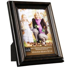 Studio Decor Simply Essentials Distressed Wood Frame, 3.5 in x 5 in
