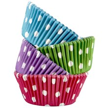 Celebrate It Standard Baking Cups, Assorted Polka Dots