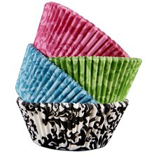 Celebrate It Standard Baking Cups, Assorted Damask