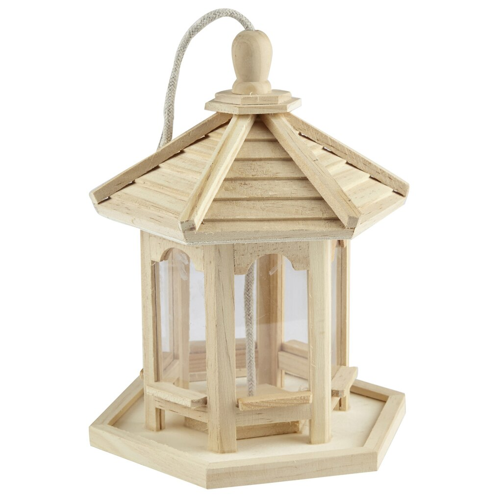 s p bird here pictures a shaped feeders wooden feeder gazebo picture