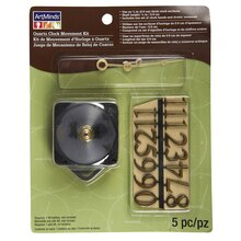 ArtMinds Quartz Clock Movement Kit, 3/8""