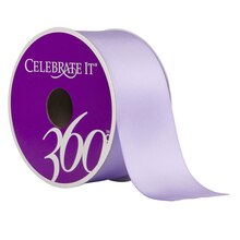 "Celebrate It 360 Satin Ribbon, 1 1/2"", Lavender"