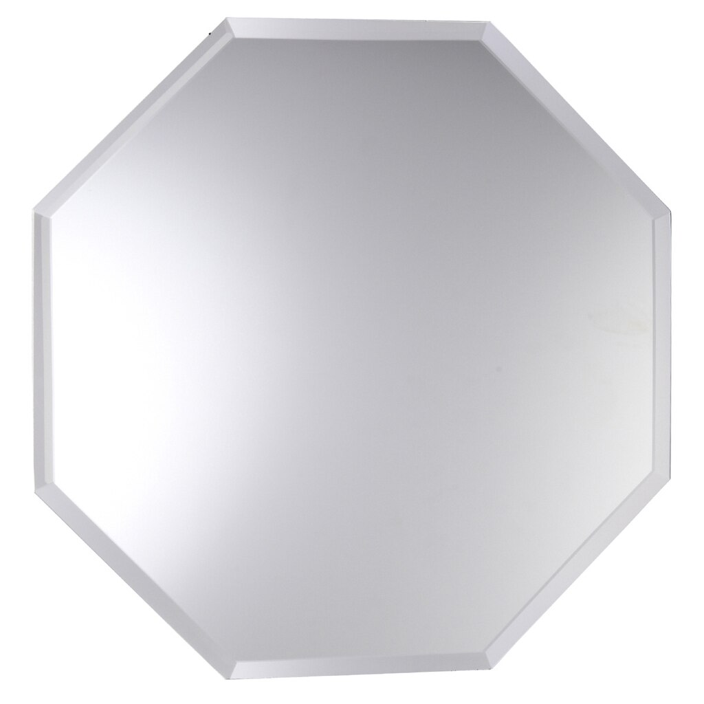 Artminds octagon beveled mirror for Beveled mirror