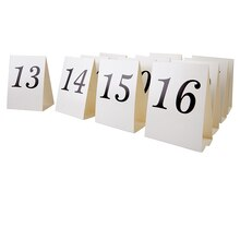 Celebrate It Occasions Tent Cards, 13-24