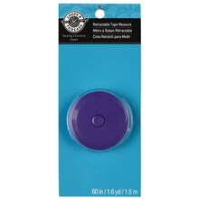 Loops & Threads Retractable Tape Measure, 60""